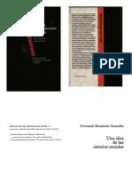 Escalante Fernando - Una Idea de Las Ciencias Sociales (1)
