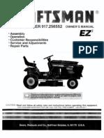 Craftsman Lawn Tractor 917.256552