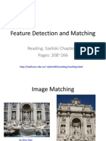 Feature Detection and Matching