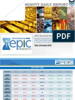 Daily Commodity Report 26 Aug 2013