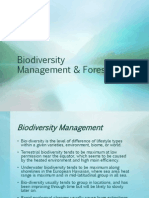 Biodiversity Management & Forestry
