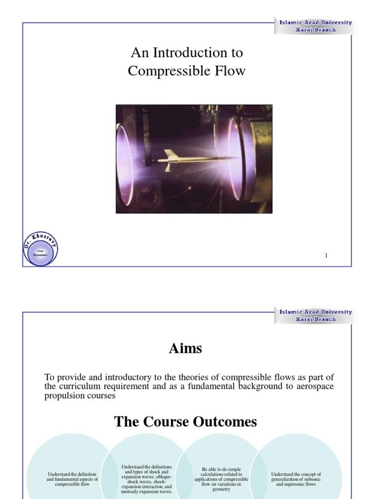1 Introduction | Compressible Flow | Nozzle