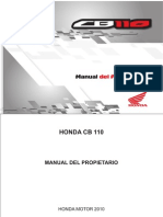 Honda Cb 110 twister