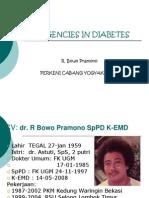 Emergencies in Diabetes.