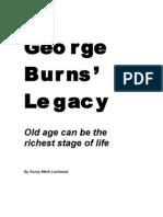 George Burns' Legacy