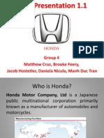Honda in america
