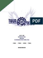 Tour de Gap 2009 Registration