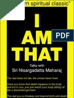 Nisargadatta Maharaj - eBook - I AM THAT - MUST READ - Searchable PDF