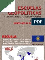 ESCUELAS GEOPOLITICAS