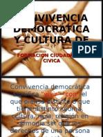 Convivencia democrática y cultura de paz