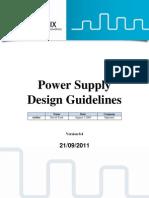 Power Supply Design Guidelines v0.4