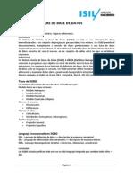 Tipos y Caracteristicas de GESTORE de BASE de DATOS(Importantes)