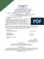 0privire La Modul de Evaluare a Gradului de Cunoastere a Prevederilor Constitutiei Republicii Moldova Si a Limbii de Stat[1]