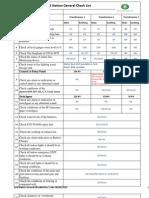 Grid Station General Checking Checklist Yitti
