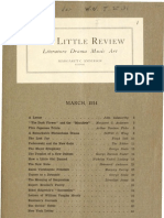 The Little Review I, 1