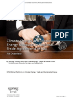 Climate Change and Sustainable Energy Measures in Regional Trade Agreements (RTAs)