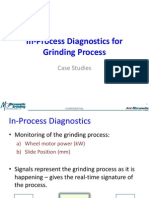 In-Process Diagnostics for Grinding