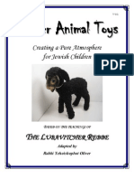 Kosher Animal Toys