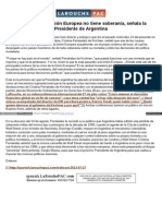 Spanish Larouchepac Com Argentina Soberania Euro