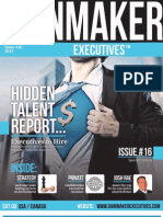 Rainmaker Executives Issue #16 - Talented People You Want Working for YOUR Company™