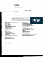 T7 B6 in Re September 11 Litigation Section- Entire Contents- 2 Copies- Memorandum of Law and 4 Copies- Compendium- 1st Pgs Scanned for Reference 384