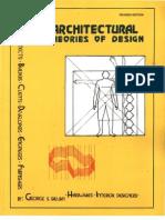 Architectural Theories of Design - George Salvan