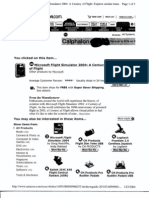 T7 B18 Pilot Training Info- Printouts for Flight Simulator Software- 1st Pgs for Reference 536