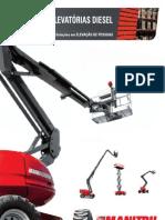 Manitou Diesel Aerial Work Platforms (PT)