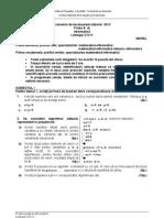 BAC2013 Informatica C Sp MI Model Subiect