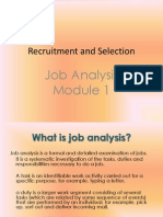 Recruitment and Selection Module 1