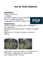 Branzino Al Vino Bianco