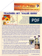 Values for the Yatra SEPTEMBER 2013