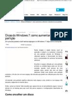 Dicas do Windows 7_ como aumentar ou diminuir o tamanho de uma partição