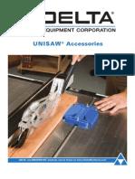 92 393B Unisaw Accessories Apr2012