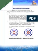 Identity Personality Test Validity