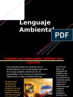 lenguaje ambiental