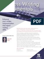 Business Writing Fundamentals