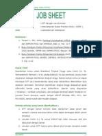 job sheet DTT