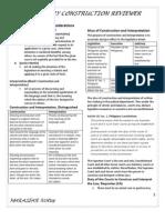 Statutory Construction Reviewer
