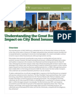 Pew Bond Report on municipal borrowing practices