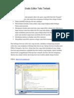 Tiga Freeware Editor Teks Terbaik