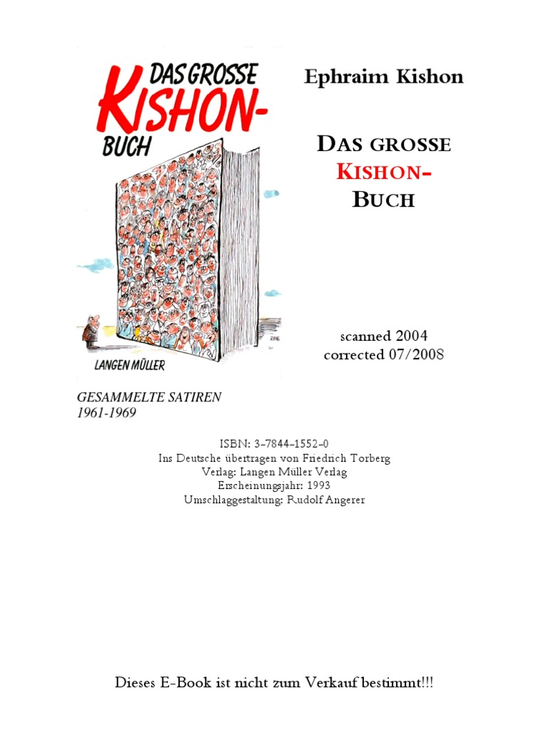 Das Grosse Kishon-Buch - Ephraim Kishon