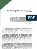 Ciencia Politica de Fin de Siglo Cesar Cansino