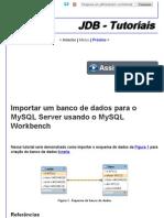FrameWork JDB - Tutoriais