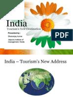 India Tourism New Destination
