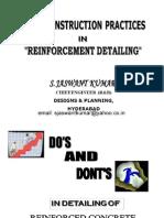 ReinforcemReinforcement Detailing ent Detailing by SJaswantKumar.pdf