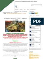 Dungeon hunter 4 Method for Ipad