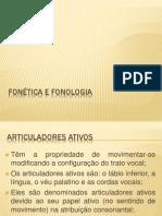 FONÉTICA E FONOLOGIA 2