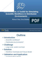 WorkflowSim-A Toolkit for Simulating Scientific Workflows in Distibuted Environments