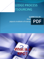 Knowledge Outsorcing Processing